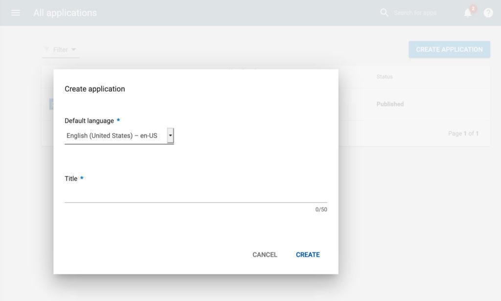 Crear una aplicación en Google Play para Android
